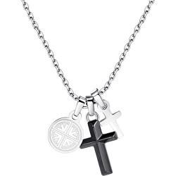 Pánský náhrdelník s křížky Indie SIN01