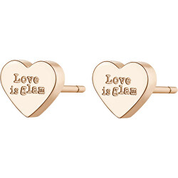 Romantické náušnice CLICK SCK41