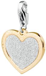 Romantický přívěsek Happy Třpytivé srdce SHA19