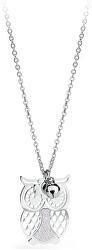 Strieborný náhrdelník Sova Gaia SGA04