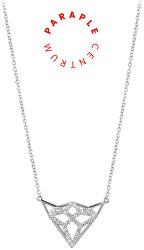 Charitativní stříbrný náhrdelník se zirkony SC292 - CENTRUM PARAPLE
