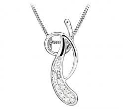 Elegantní náhrdelník se zirkony  SC383