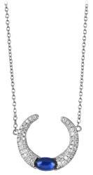 Úchvatný stříbrný náhrdelník se zirkony SC307