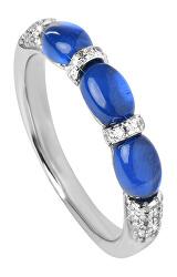 Úchvatný stříbrný prsten se zirkony SC306