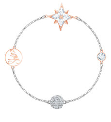 Elegantní bicolor náramek Star Remix 5494886