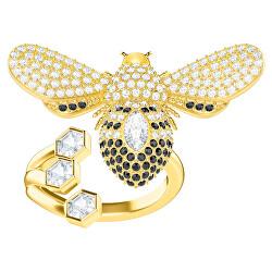 Extravagantní pozlacený prsten s krásnou včelkou Lisabel 5409022