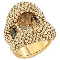 Luxusní dámský prsten s krystaly Swarovski Tigris 55153