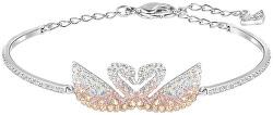 Luxusní náramek s labutěmi Iconic Swan 5256264