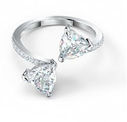 Luxusní otevřený prsten s krystaly Swarovski Attract 5535191