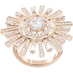 Luxusní prsten s krystaly Swarovski Sunshine 5482