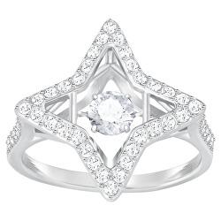 Luxusní prsten s třpytivými krystaly Sparkling Dance 5349666