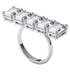 Masivní třpytivý prsten s krystaly Millenia 5610730