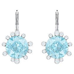 Okouzlující náušnice s modrými krystaly Olive 5479927