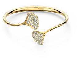 Massiv vergoldetes Armband mit Kristallen 5518170