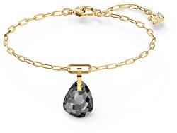 Pozlacený elegantní náramek s krásným krystalem T Bar 5566149