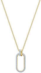 Pozlátený náhrdelník TIME 5560715