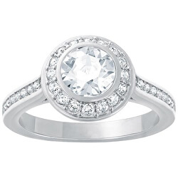 Třpytivý prsten s krystaly Swarovski Angelic 1081952