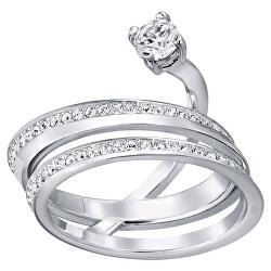 Půvabný prsten s krystaly Swarovski Fresh 5235