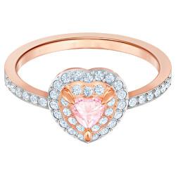 Romantický bronzový prsten se srdíčkem One 547069