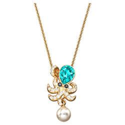 Stylový náhrdelník s přívěskem chobotnice Ocean 5465939