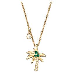Stylový pozlacený náhrdelník Fashion Jewelry 5371158 (řetízek, přívěsek)
