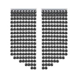 Třpytivé náušnice s černými krystaly Swarovski 5385857