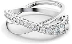 Csillogó dupla gyűrű TWIST 5572716