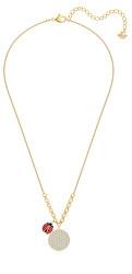 Trblietavý náhrdelník s pôvabnou lienkou Lisabel 5498808