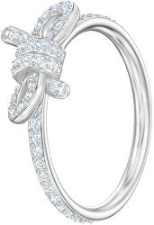 Třpytivý prsten s mašličkou LIFELONG 5474934