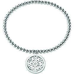 Kuličkový dámský náramek s přívěskem Mandala SAKQ15