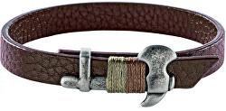 Štýlový kožený náramok pre mužov Bandy SZV33