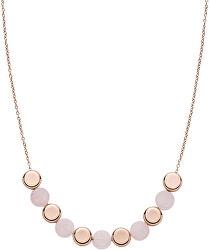 Bronzový náhrdelník s ruženínom Ellen SKJ1312791