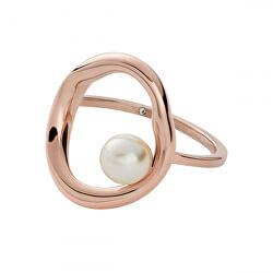 Divatos bronz gyűrű gyönggyel  Agnethe SKJ1444791