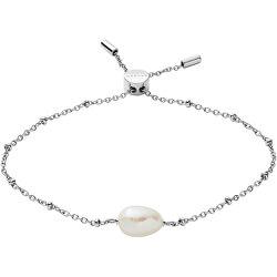 Luxusné oceľový náramok s perlou Agnetha SKJ1399040