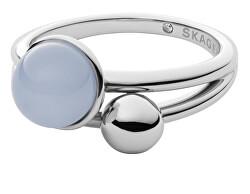 Modern acél gyűrű Sea Glass SKJ1437040