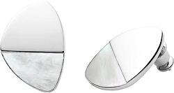 Oceľové náušnice s perleťou SKJ1297040