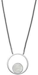 Oceľový náhrdelník s perleťou SKJ1098040