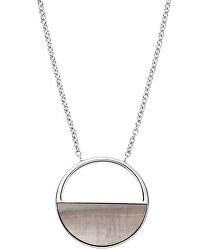 Oceľový náhrdelník s perleťou SKJ1119040