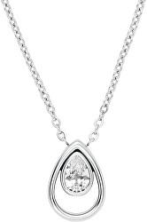Pôvabný oceľový náhrdelník s príveskom Elin SKJ1338040