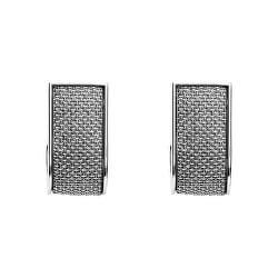 Štýlové oceľové náušnice SKJ1150040