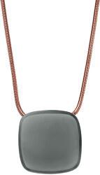 Výrazný bronzový náhrdelník SKJ0873791