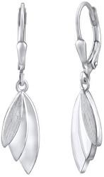 Designové stříbrné náušnice QRE309K