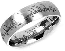 Oceľový prsteň moci z filmu Pán prsteňov RRC2010