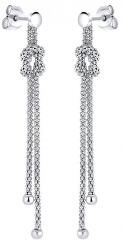 Řetízkové stříbrné náušnice GV06167E