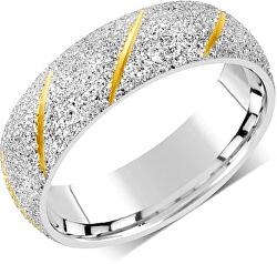 Snubní prsten pro muže i ženy z oceli RRC22799