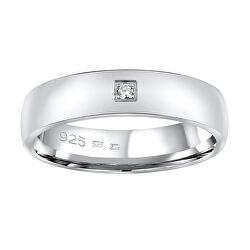 Snubní stříbrný prsten Poesia pro ženy QRG4104W