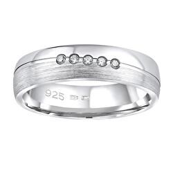 Snubní stříbrný prsten Presley pro ženy QRZLP012W