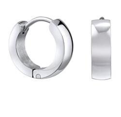 Stříbrné kruhové náušnice KMM95103