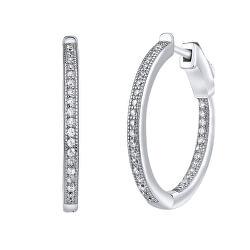 Cercei rotunzi din argint cu fixare unica Milla JJJE0106