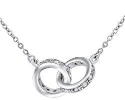 Strieborný náhrdelník s príveskom JJJN0686